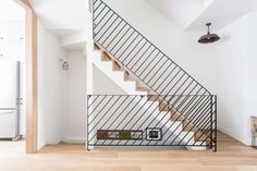 Home Decor Hallway 150 Marvelous Contemporary Stairs Ideas Stair Handrail, Staircase Railings, Stairways, Banisters, Metal Railings, Contemporary Stairs, Modern Stairs, Contemporary Design, Railing Design