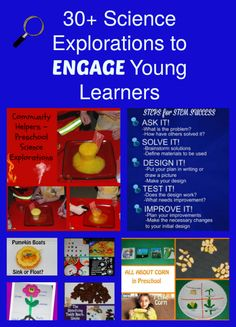 30+ Science Explorations to ENGAGE Preschoolers in ACTIVE Learning! | The…