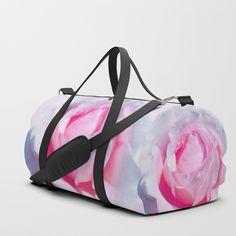 Blushing pink rose Duffle Bags, Blush Pink, Gym Bag, Backpacks, Rose, Fashion, Light Rose, Moda, Pink