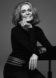 """Jane Kramer writes about the writer and activist Gloria Steinem, whose book """"My Life on the Road"""" comes out in October, and her influence on feminism. Gloria Steinem, Accidental Icon, The New Yorker, 50 Fashion, Girls In Love, Beautiful Actresses, Girl Power, Feminism, Style Icons"""