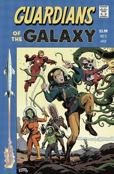 Paolo Rivera - Guardians of the Galaxy #5