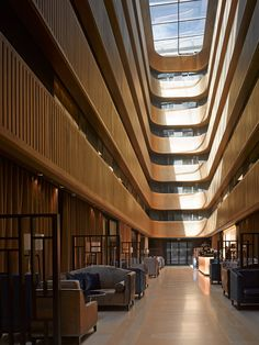 Flanagan Lawrence transformed the Grade II-listed Shepherd's Bush Pavilion cinema in London into a four-star hotel |atrium
