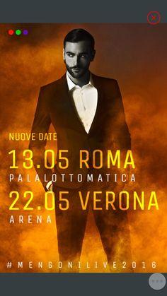 Marco Mengoni raddoppia ! Due nuove date si aggiungono al MENGONILIVE2016
