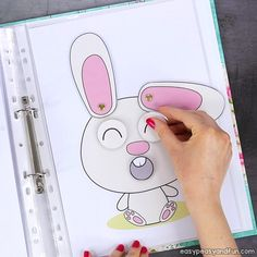 Printable Easter Quiet Book & Activity Book for Pre-K and K Crafts for Kids, Coloring pages, How to Draw TutorialsPrintable Easter Quiet Book – Activity Book for Pre-K and KCount with the bunnies and Easter Activities For Kids, Activities For 2 Year Olds, Toddler Learning Activities, Preschool Learning Activities, Fun Learning, Preschool Activities, K Crafts, Kindergarten, Toddler Activities