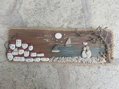 Before sunrise || 🌄 • Love scene with colored pebbles and sea driftwood from Horefto beach in Pelion,Greece! #handmade #pebbleart #pebbles #unique #lovescene #gifts #giftideas #weddingpresent #couplelove #homedecoration #driftwood #pelion __________________________________________________ ~Wishing you all a happy Friday! 💗