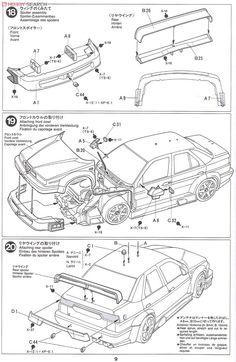 Alfa Romeo 155 V6TI (Model Car) Assembly guide8