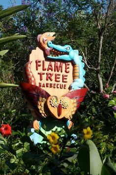 Flame Tree BBQ at Disney's Animal Kingdom, one of the two best fast food restaurants on Disney Property.