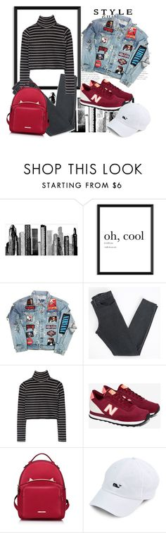 """""""Untitled #773"""" by annaruto ❤ liked on Polyvore featuring RoomMates Decor, Acne Studios, New Balance and WithChic"""