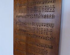 Holy, Holy, Holy hymn carving on Maple wood - Edit Listing - Etsy Holy Holy, Verses, Prayers, Carving, Wood, Etsy, Madeira, Woodwind Instrument, Scriptures