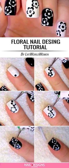 Cute And Easy Nail Designs to Do at Home ★ See more: naildesignsjourna... #nails