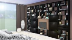 Books Passion Set by DalaiLama at The Sims Lover via Sims 4 Updates