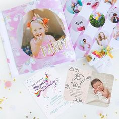 💕🦄Although #NationalUnicornDay was last sunday, we prefer to celebrate it all year long. Because it's always better to be a unicorn! Mixbook has your essential unicorn themed stationery and photo books. Shop these magical themes via link in our bio. 🎉    #Regram via @mixbook