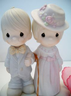 Vintage Precious Moments figurine God Bless by ALEXLITTLETHINGS
