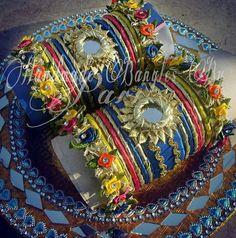 Gota bangles Silk Thread Bangles, Thread Jewellery, Gota Patti Jewellery, Earrings Handmade, Handmade Jewelry, Rakhi Design, Mehndi Decor, Bohemian Accessories, Bridal Jewelry