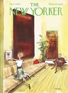 The New Yorker - Saturday, March 7, 1964 - Issue # 2038 - Vol. 40 - N° 3 - Cover by : Charles Saxon