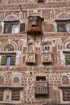 House Details, Sana'a, Yemen | Flickr - Photo Sharing!