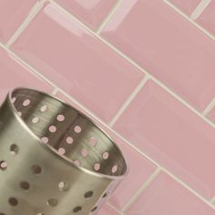 These brick shaped Gloss St James Park Yellow Mini Metro Tiles have a bevelled edge, and are perfect for brightening up a bathroom or kitchen wall. Yellow Tile, Pink Tiles, Yellow Walls, Color Yellow, Kitchen Wall Tiles, Room Tiles, Kitchen Backsplash, James Park, Metro Tiles