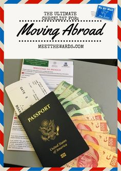 Are you considering moving overseas but don't know where to start? Here is the ultimate checklist to help you get started with your international move! Moving abroad has never been easier.