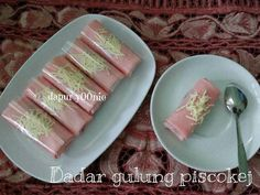 g piscokej Diah Didi Kitchen, Indonesian Food, Indonesian Recipes, Traditional Cakes, Snack Box, Asian Desserts, Pancakes And Waffles, Crepes, Finger Foods