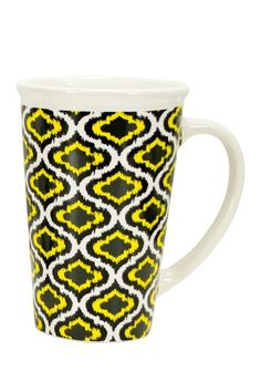 Ikat Mega Mug by Boston Warehouse on @HauteLook