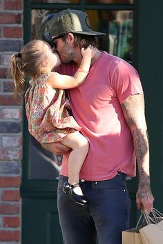 """And she was like, """"Love you too Dad."""" 