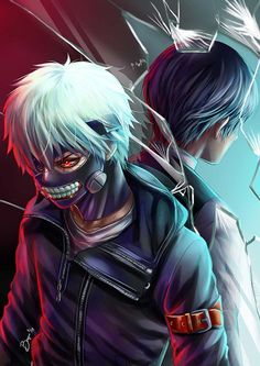 Tokyo Ghoul - The Other Side of the Mirror by Bayou-Kun.deviantart.com on @deviantART