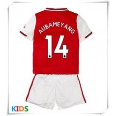 AGE 4//5 5//6 Years Kids Arsenal FC Football Pyjamas AUBAMEYANG Printed on BACK