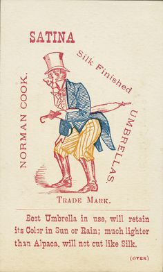 Trade Card.  Courtesy of the Boston Public Library bpl.org