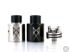 Vaping AMP's Terk RDA is a collaboration between M Terk, a renowned builder and coil artist, and Vaping American Made Products, resulting in a builder orientated platform measuring 24mm in diameter and implementing a two post clamp style configuration. The Terk RDA is a collaborative effort between M Terk and Vaping American Made Products, resulting in a quality, builder orientated platform featuring .a 20mm inside diameter build deck and an ample two post, clamp style configuration. Each…