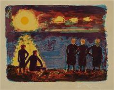 Jens Sondergaard; Danish expressionist painter