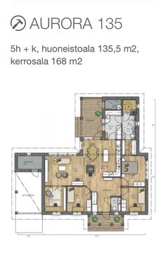 I would like to build this house. Bedroom Apartment, Future House, Bungalow, Diy Home Decor, House Plans, Floor Plans, Construction, House Design, Dreams