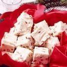 White Chocolate Peppermint Fudge Recipe | Taste of Home Recipes