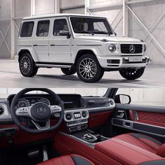 Die brandneue Mercedes-Benz G-Klasse - David Watson ( am Inst . - Auto Shows in Germany – Appointments from January 2019 Mercedes Auto, Mercedes Benz G Klasse, Mercedes Benz Cars, 4x4, Mercedez Benz, Benz G Class, Lux Cars, Classic Mercedes, Luxury Suv