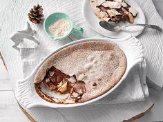 Birnen-Schokoladen Auflauf