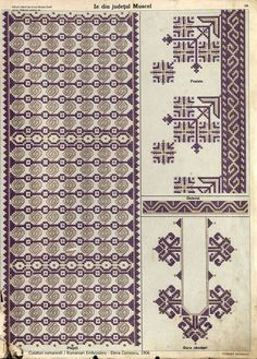 Folk Embroidery, Embroidery Patterns, Machine Embroidery, Antique Quilts, Hama Beads, Diy And Crafts, Cross Stitch, Crafty, Album