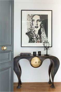 I have a crush on this console table