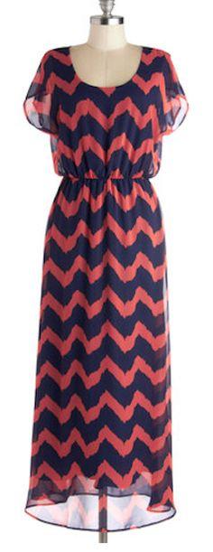 Coral & navy maxi dress http://rstyle.me/n/bq36rnyg6