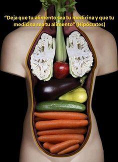 """""""Deja que tu alimento sea tu medicina y que tu medicina sea tu alimento"""" #Hipocrates #Citas #Frases @Candidman"""