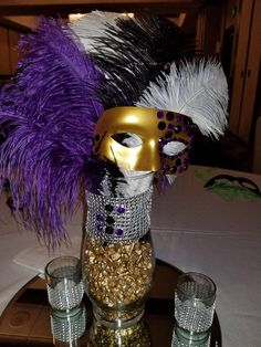 """Acquire fantastic ideas on """"mascara dupes"""". They are available for you on our site. Masquerade Party Centerpieces, Masquerade Ball Decorations, Masquerade Party Decorations, Masquerade Ball Party, Sweet 16 Masquerade, Mardi Gras Centerpieces, Masquerade Wedding, Masquerade Theme, Prom Decor"""