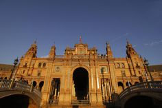 Cannot wait to be there. Seville, Spain -- Plaza de Espana