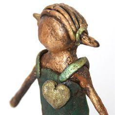 spread the love meisje met staartjes beeld - Made by Ellen Buchwaldt