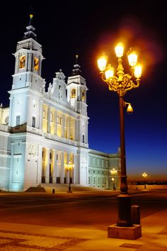 Almudena Cathedral, Madrid,Spain -- Madrid is another one of my favorite cities. Don't get me started on the amazing shopping there...