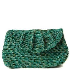 Crocheted bag make bigger out of wool and felt it
