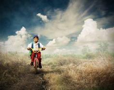 Bike to School by Rishardana