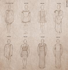 After a loong time I finally made them! Ancient Greek clothing for men! And check out women's clothing For more sketches: theerosandpsychepro. Ancient Greek Clothing for Men Ancient Greek Dress, Ancient Greece Clothing, Ancient Greece Fashion, Ancient Greek Costumes, Ancient Greek Art, Ancient Rome, Ancient Roman Clothing, Egyptian Art, Ancient Aliens