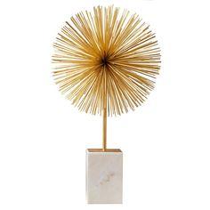 starburst statue #decor #accessories #gold