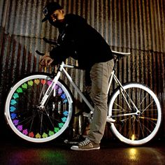 MonkeyLectric Monkey Bike Light now featured on Fab. Bicycle Lights, Bike Light, Plate Tectonics, Bike Wheel, Custom Art, Cool Bikes, The Book, The Darkest, At Least