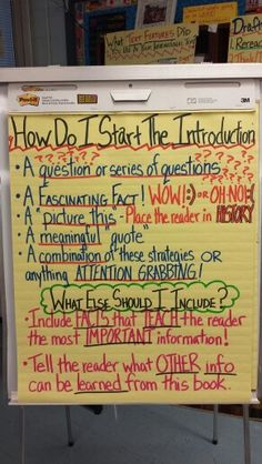 Creative introductions for essays on bilingual education Fast food nation response essay assignment a person who made an unforgettable impression on me essay about myself essay flanders field essay. Expository Writing, Informational Writing, Fiction Writing, Teaching Writing, Writing Skills, Essay Writing, Informative Writing, Narrative Essay, Sentence Writing