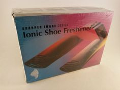 Brand New in Box Sharper Image Ionic Shoe Freshener For All Footwear FREE SHIP!  #SharperImage