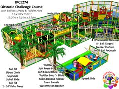 Commercial Indoor Playground Equipment |Jungle Gyms for Resorts and Hotels